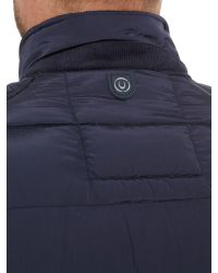 Duck and Cover | Blue Decode Quilted Jacket for Men | Lyst
