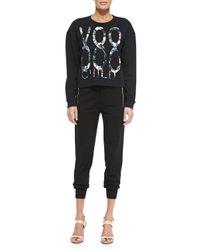 McQ - Black Voodoo Child Sweatshirt - Lyst