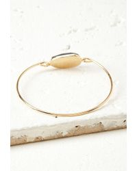 Forever 21 - Blue Faux Stone Bangle - Lyst