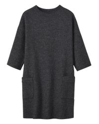 Toast - Black Boiled Wool Tunic - Lyst