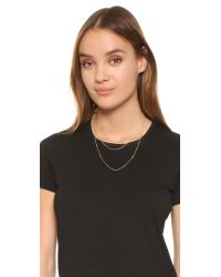 Gorjana - Metallic Chloe Mini Layer Necklace - Lyst