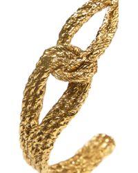 Aurelie Bidermann | Metallic Gold-plated Bangle | Lyst