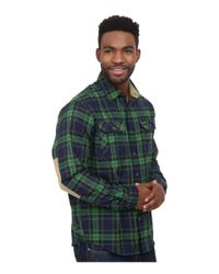 Under Armour - Green Borderland Flannel for Men - Lyst
