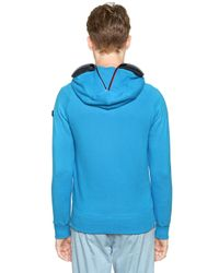 Ai Riders On The Storm | Blue Total Zip Up Cotton Fleece Sweatshirt for Men | Lyst