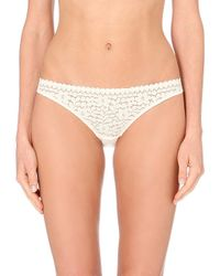 Princesse Tam-Tam | White Monica Lace Hipster Briefs | Lyst