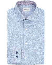 Duchamp | Natural Tailored-fit Liberty-print Cotton Shirt for Men | Lyst
