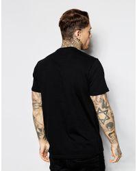 DIESEL - Black 'T-Melina' T-Shirt for Men - Lyst