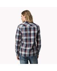 Tommy Hilfiger - Multicolor Cotton Check Shirt for Men - Lyst