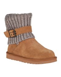 UGG | Brown Cambridge Ankle Boot Chestnut Suede | Lyst