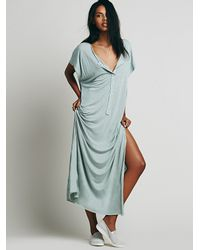 Free People | Blue Marrakesh Dress | Lyst