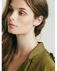 Free People - Metallic Phyllis + Rosie Jewelry Womens Comet Slider Earring - Lyst