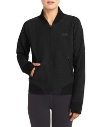 The North Face | Black Ma-x Knitted Jacket | Lyst