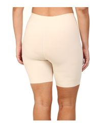 Yummie By Heather Thomson - Natural Plus Size Virginia Mid Waist Shorts - Lyst