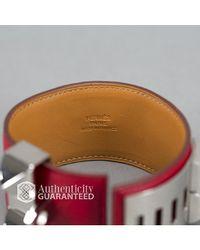 Hermès | Red Pre-owned: Leather Collier De Chien Cdc Bracelet for Men | Lyst