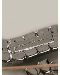 Giorgio Armani | Green Set Glass Snake Brooch | Lyst