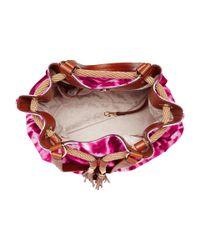 MICHAEL Michael Kors - Pink Marina Large Gathered Tote - Lyst