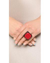 Marni | Resin Ring - Black Cherry | Lyst