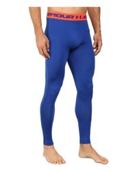 Under Armour - Blue Armour® Heatgear® Compression Legging for Men - Lyst