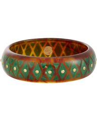 Mark Davis | Brown Lattice Bangle | Lyst