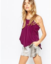 PUMA | Purple Bubble Style Cami Vest | Lyst