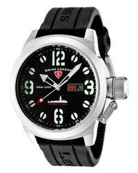 Swiss Legend - Submersible Black Silicone And Dial for Men - Lyst