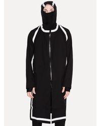 Boris Bidjan Saberi 11 - Black Taped Hooded Trench Coat for Men - Lyst