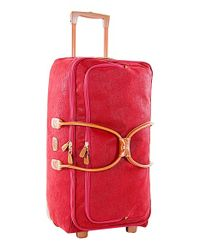 Bric's | Red 'life' Rolling Duffel Bag for Men | Lyst