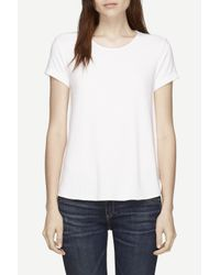 Rag & Bone | White Vista Tee | Lyst
