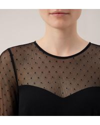 Hobbs - Black Foyle Dress - Lyst