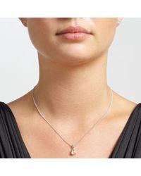 John Lewis | Metallic Sterling Silver Teardrop Necklace And Earrings Set | Lyst