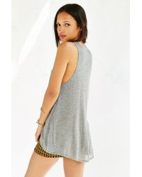 Project Social T | Gray Chandler Cut-in Tank Top | Lyst