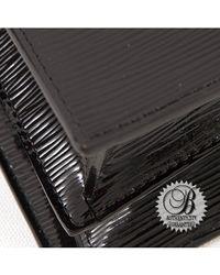 Louis Vuitton - Black Preowned Noir Epi Electric Sevigne Gm Bag - Lyst