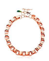Vernissage Jewellery - Pink Anomma Ants Pendent Chain - Lyst