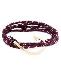 Miansai | Purple Hook Wrap Bracelet for Men | Lyst