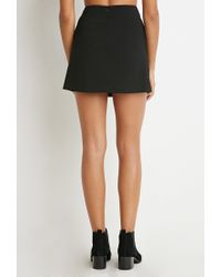 Forever 21 - Black Pocket Mini Skirt - Lyst