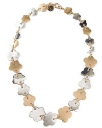 Marc By Marc Jacobs | Metallic Blossom Chain Necklace | Lyst