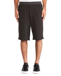 ATM | Gray French Terry Sweatshorts for Men | Lyst