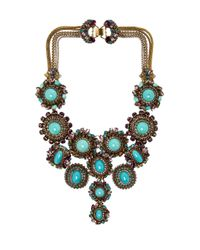 Erickson Beamon - Blue Girls On Film Necklace - Lyst