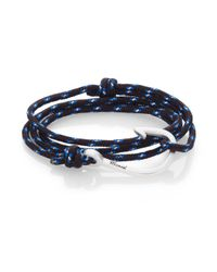 Miansai | Black Hook Rope Wrap Bracelet | Lyst