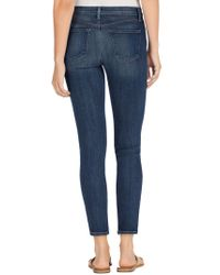 J Brand | Blue 2335 High-rise Ankle Zip | Lyst