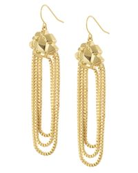 CC SKYE | Metallic Goldie Dangle Earrings | Lyst
