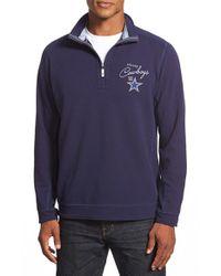 Tommy Bahama - Purple 'ben & Terry - Dallas Cowboys' Nfl Quarter Zip Pullover for Men - Lyst