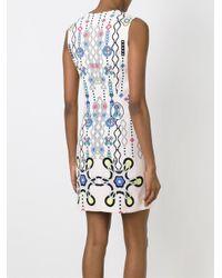 Peter Pilotto | Blue Digital Print Dress | Lyst