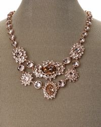 Givenchy - Metallic Rose Gold-Tone Multiple Embellishment Link Necklace - Lyst