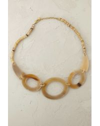 Anthropologie | Natural Marbled Links Necklace | Lyst