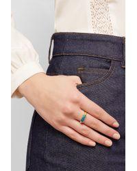 Pippa Small | Metallic 22-karat Gold Opal Ring | Lyst