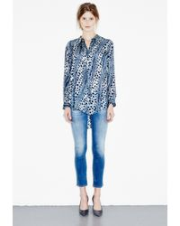 M.i.h Jeans - Blue The Petal Shirt - Lyst