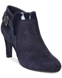 Bandolino | Blue Loman Dress Booties | Lyst