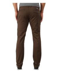 Billabong - Brown Outsider Chino Pants for Men - Lyst