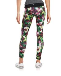 Betsey Johnson | Purple Printed Leggings | Lyst
